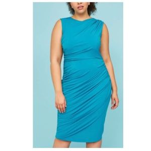 Lane Bryant Teal Sheath Dress